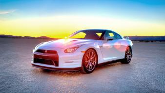 Nissan roads 2014 r35 gt-r skyline gtr Wallpaper