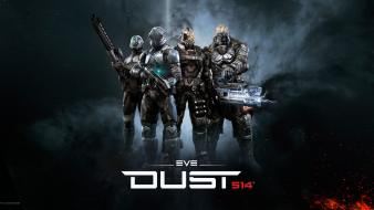 Outer space eve online dust 514 wallpaper