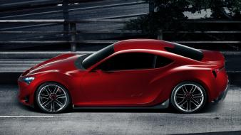 Roads vehicles red cars scion 2012 fr-s wallpaper