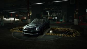 Speed bmw m3 gtr e46 garage nfs wallpaper