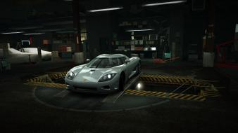Speed grey koenigsegg ccx world garage nfs wallpaper