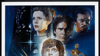 Star wars movie posters return of the jedi wallpaper