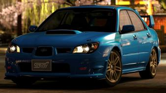 Subaru impreza ps3 wrx gt5 sti 2005 wallpaper