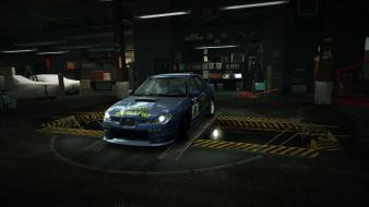Subaru impreza world wrx sti garage nfs wallpaper