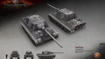 Tanks world of jagdtiger renders wallpaper