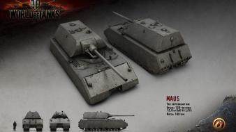 Tanks world of maus renders wallpaper