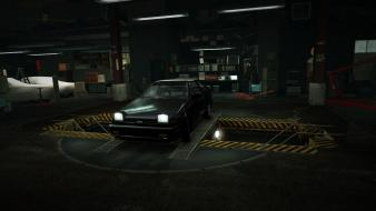 Toyota corolla gt world ae86 garage nfs wallpaper