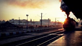 Trains romania bucharest wallpaper