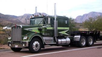 Trucks kenworth 18 wheeler automotive sonny wallpaper