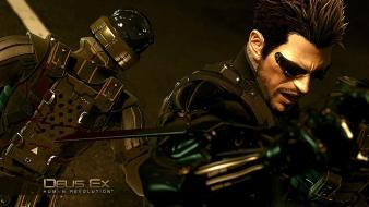Video games deus ex human wallpaper