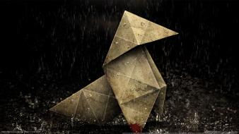 Video games origami heavy rain Wallpaper