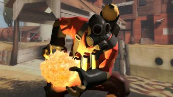 Video games team fortress 2 blender dmx pyro wallpaper