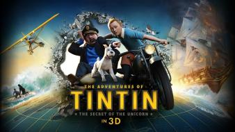 3d the adventures of tintin wallpaper
