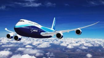 Airplanes boeing 747 widescreen Wallpaper