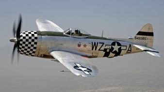 Airplanes p-47 thunderbolt widescreen wallpaper