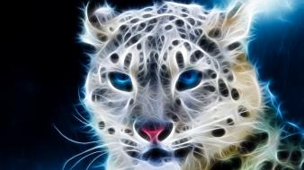 Animals fractalius wallpaper