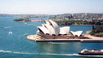 Australia sydney opera house wallpaper