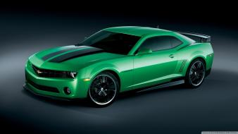Cars chevrolet camaro side view special edition synergy wallpaper