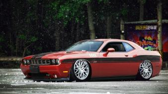 Cars dodge challenger automotive auto 1 wallpaper
