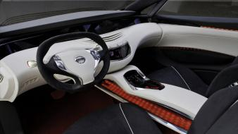 Cars interior nissan concept art 2010 Wallpaper