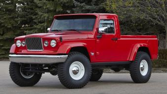 Cars jeep red wallpaper