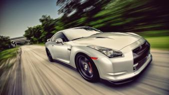 Cars nissan roads vehicles jdm r35 gt-r gtr wallpaper