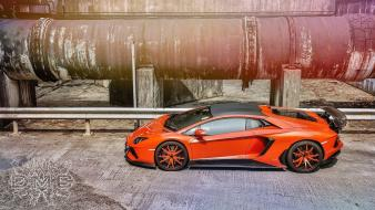 Cars supercars lamborghini aventador dmc wallpaper