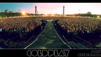 Coldplay panorama concert the hague wallpaper