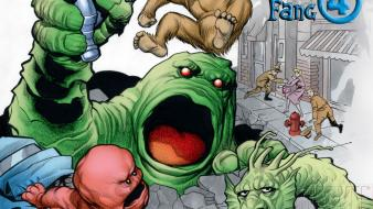 Comics fantastic four marvel wallpaper