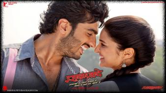 Couple movie posters parineeti chopra ishaqzaade arjun kapoor wallpaper