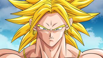 Dragon ball z broly gt super saiyan wallpaper
