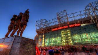 Fc red devils holy trinity old trafford Wallpaper