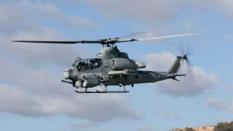 Helicopters airplanes viper widescreen wallpaper