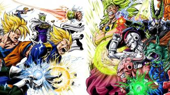 Heroes villains dragon ball z gt Wallpaper