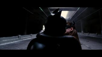 Kissing catwoman screenshots the dark knight rises wallpaper