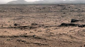 Landscapes outer space mars curiosity Wallpaper