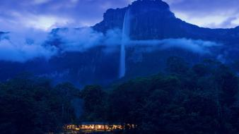 Landscapes venezuela national park angel falls wallpaper