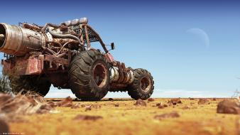 Mad max digital art 3d wallpaper