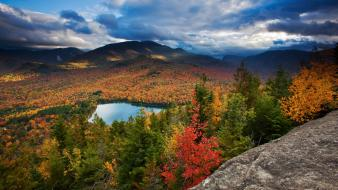 Mountains landscapes nature trees national geographic skies autumn wallpaper