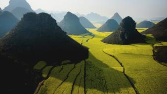 Mountains nature china national geographic yunnan farmland wallpaper