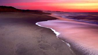 Nature beach california dunes half moon bay wallpaper