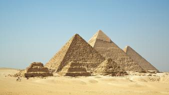 Nature world egypt giza pyramids wallpaper