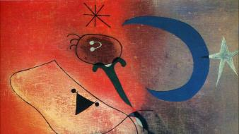 Paintings surrealism spanish artwork traditional art joan miro Wallpaper