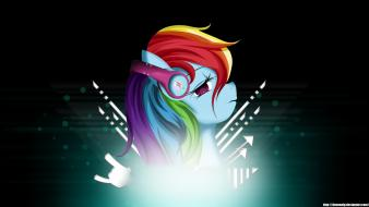 Pony: friendship is magic love music dashie Wallpaper