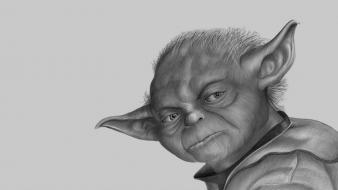 Star wars movies artwork yoda wallpaper