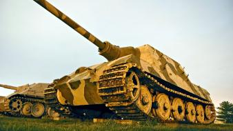 Tanks vehicles armored vehicle low-angle shot konigstiger Wallpaper