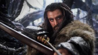 The hobbit bow (weapon) thorin oakenshield richard armitage wallpaper