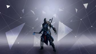 Tomahawk assassins creed 3 animus connor kenway wallpaper