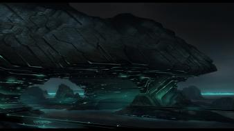 Tron concept art game wallpaper