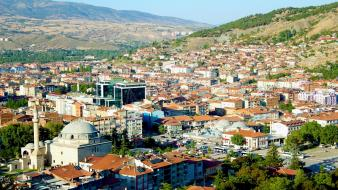 Valley turkey cities tokat wallpaper